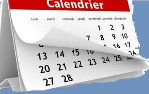 A vos calendriers